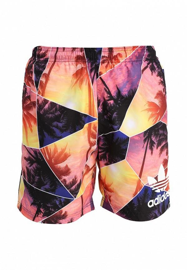 Мужские шорты для плавания Adidas Originals (Адидас Ориджиналс) S18779: изображение 1
