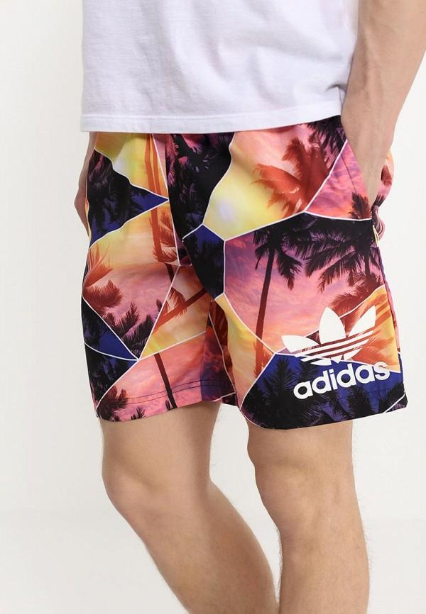 Мужские шорты для плавания Adidas Originals (Адидас Ориджиналс) S18779: изображение 2