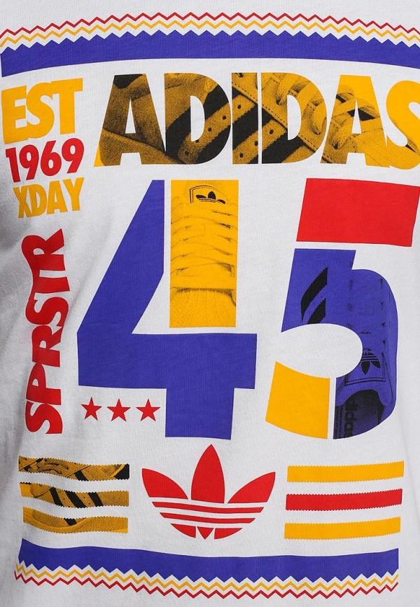 Футболка с надписями Adidas Originals (Адидас Ориджиналс) S19077: изображение 3
