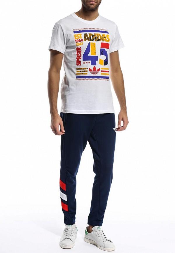 Футболка с надписями Adidas Originals (Адидас Ориджиналс) S19077: изображение 4