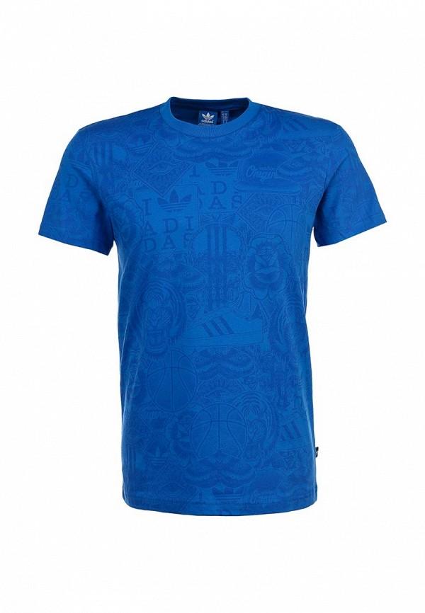 Спортивная футболка Adidas Originals (Адидас Ориджиналс) S19087: изображение 1