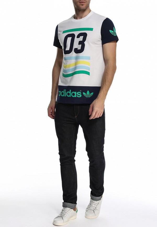 Футболка с коротким рукавом Adidas Originals (Адидас Ориджиналс) S19094: изображение 3