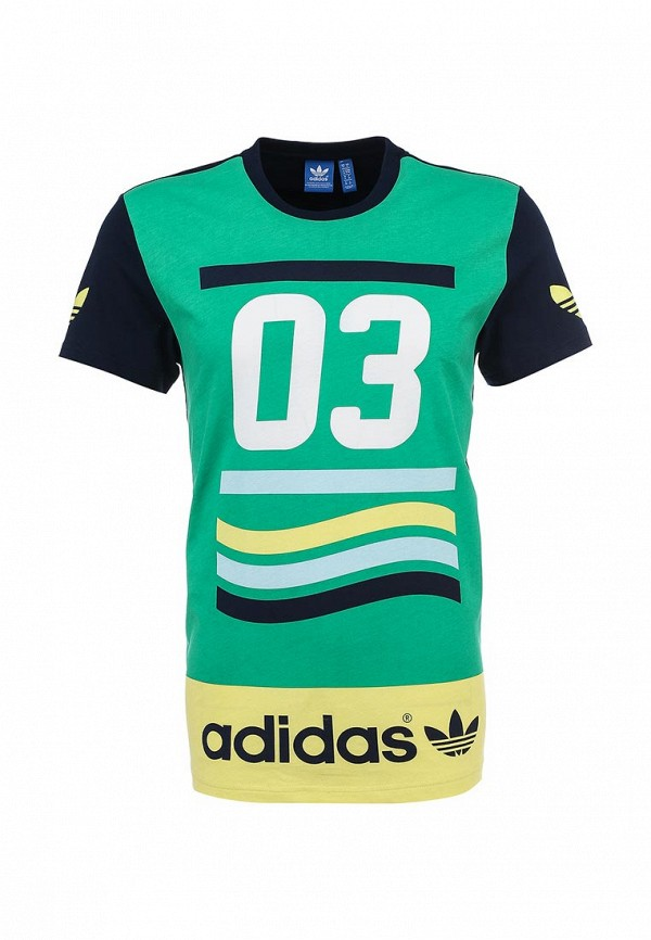 Футболка с коротким рукавом Adidas Originals (Адидас Ориджиналс) S19095: изображение 1