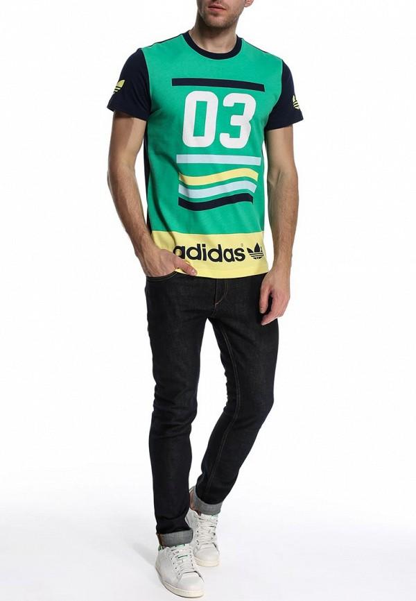 Футболка с коротким рукавом Adidas Originals (Адидас Ориджиналс) S19095: изображение 3