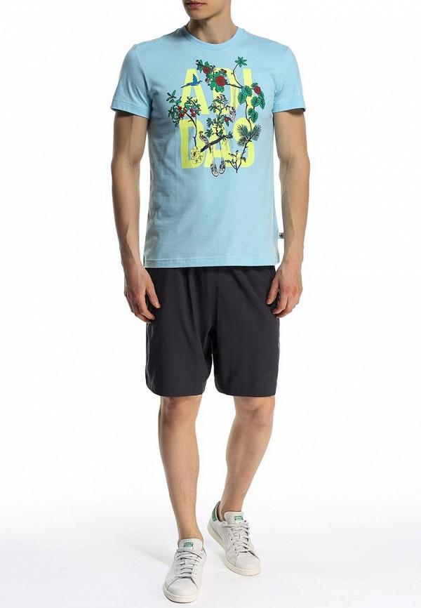 Футболка с коротким рукавом Adidas Originals (Адидас Ориджиналс) S19104: изображение 3