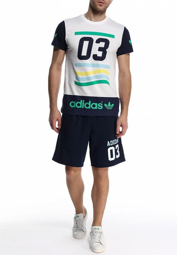 Мужские спортивные шорты Adidas Originals (Адидас Ориджиналс) S19136: изображение 3