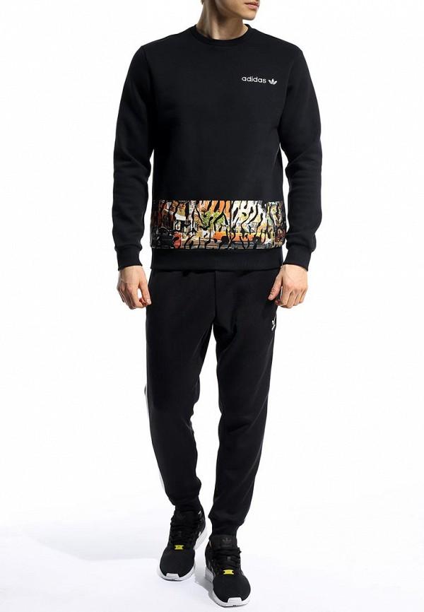 Толстовка Adidas Originals (Адидас Ориджиналс) S19159: изображение 3
