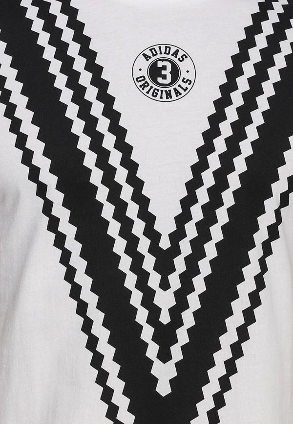 Футболка с надписями Adidas Originals (Адидас Ориджиналс) S19168: изображение 2