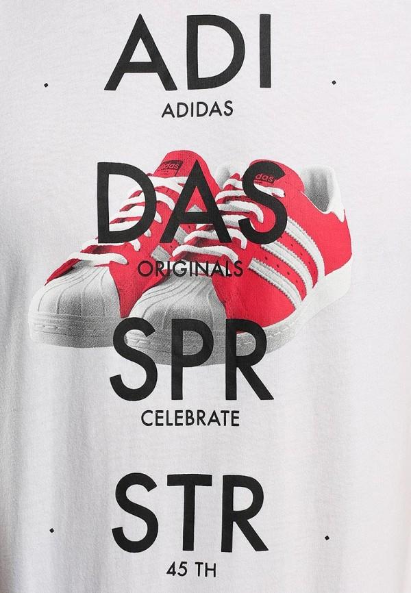 Футболка с надписями Adidas Originals (Адидас Ориджиналс) S19178: изображение 3