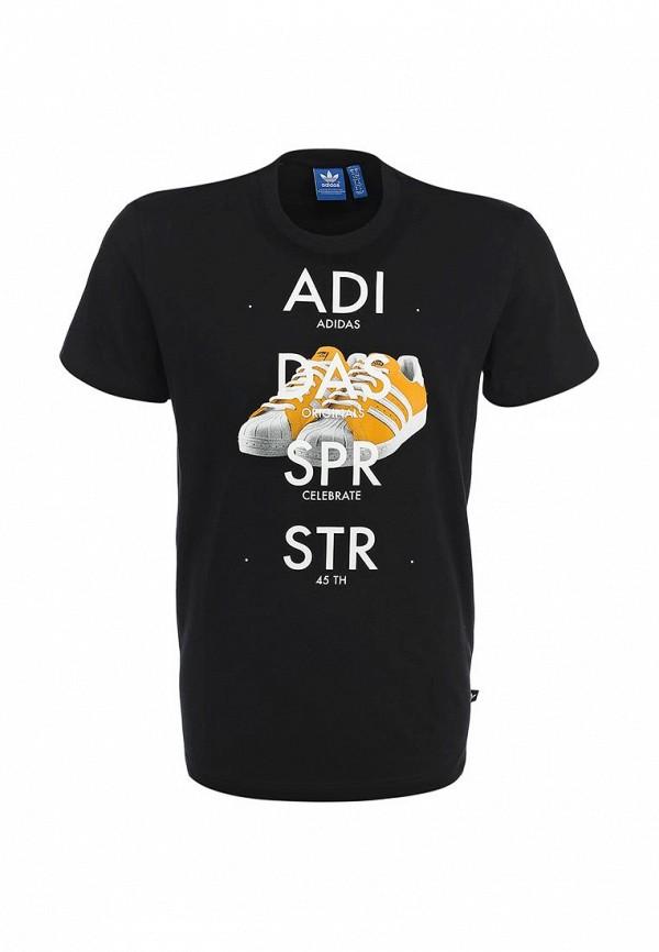 Футболка с надписями Adidas Originals (Адидас Ориджиналс) S19179: изображение 2