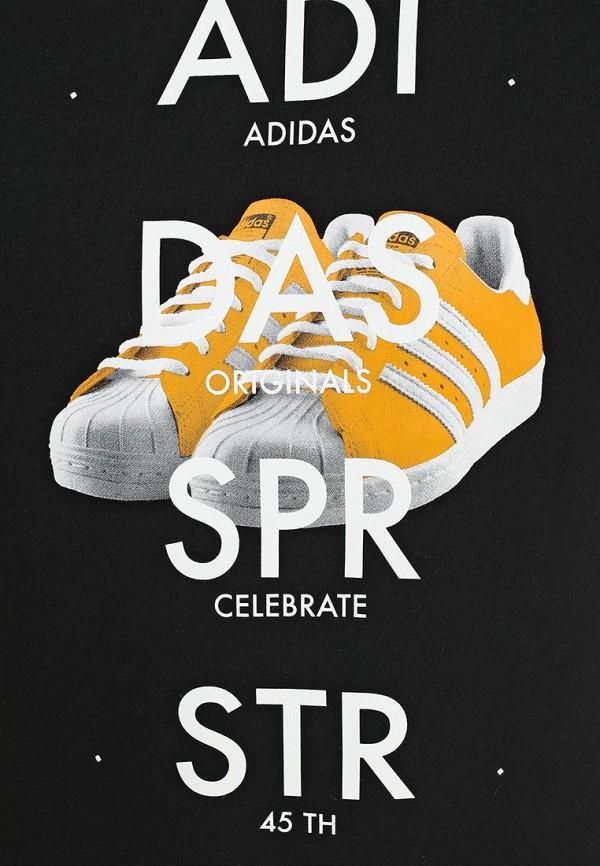 Футболка с надписями Adidas Originals (Адидас Ориджиналс) S19179: изображение 3