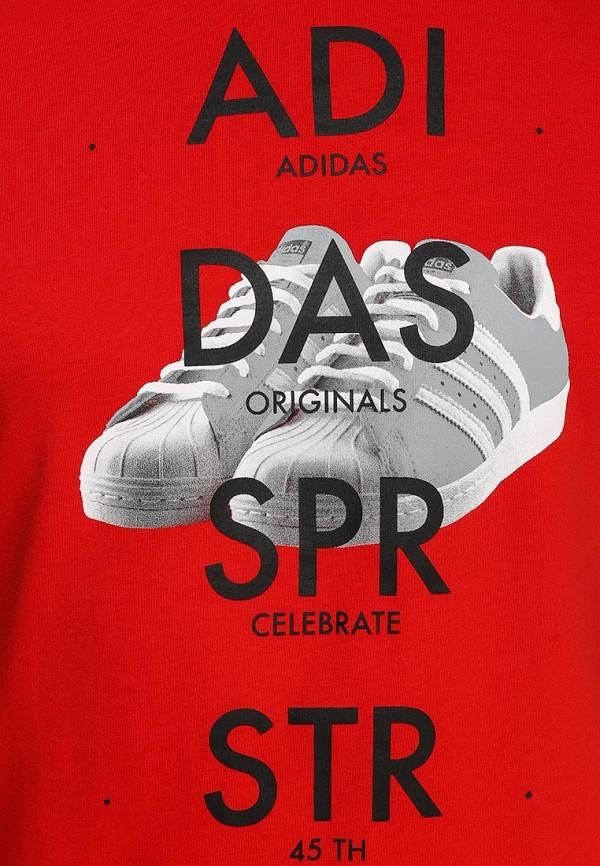 Футболка с надписями Adidas Originals (Адидас Ориджиналс) S19180: изображение 2