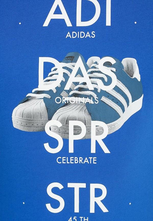 Футболка с надписями Adidas Originals (Адидас Ориджиналс) S19181: изображение 3