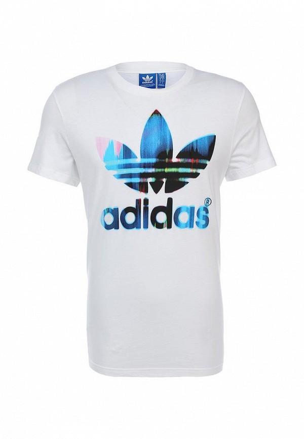 Футболка с коротким рукавом Adidas Originals (Адидас Ориджиналс) S19190: изображение 1