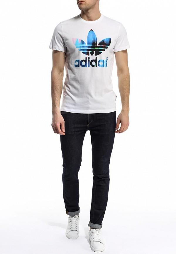 Футболка с коротким рукавом Adidas Originals (Адидас Ориджиналс) S19190: изображение 4