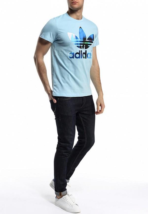 Футболка с коротким рукавом Adidas Originals (Адидас Ориджиналс) S19191: изображение 4