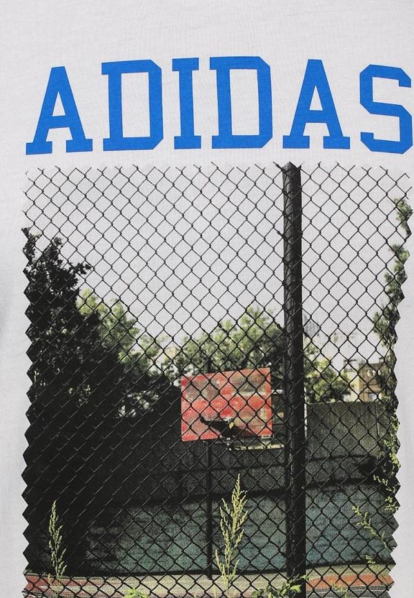 Футболка с надписями Adidas Originals (Адидас Ориджиналс) S19210: изображение 2