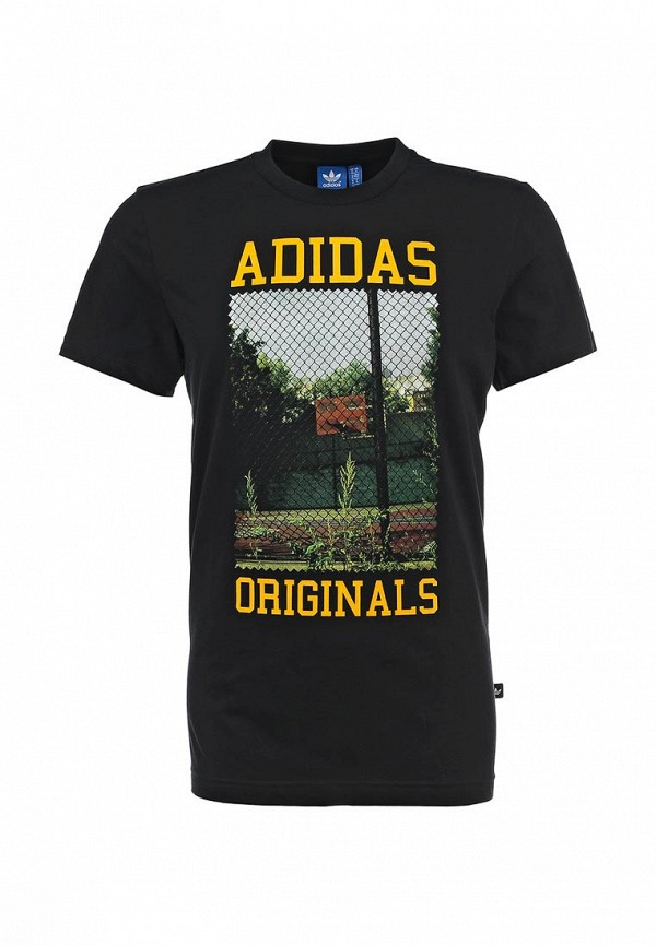 Футболка с фотопринтами Adidas Originals (Адидас Ориджиналс) S19211: изображение 1