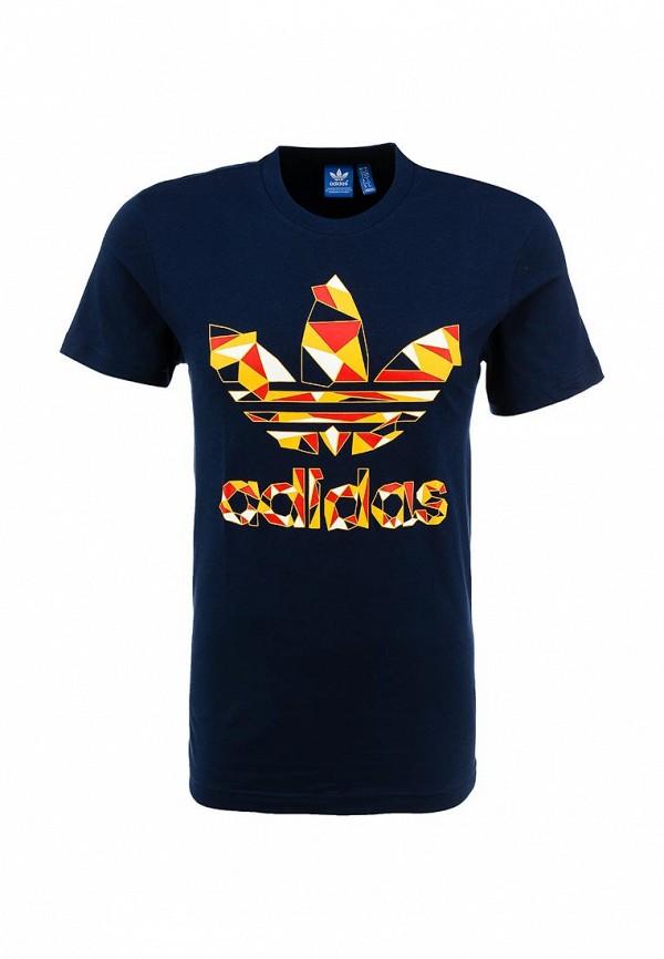 Футболка с надписями Adidas Originals (Адидас Ориджиналс) S19218: изображение 1