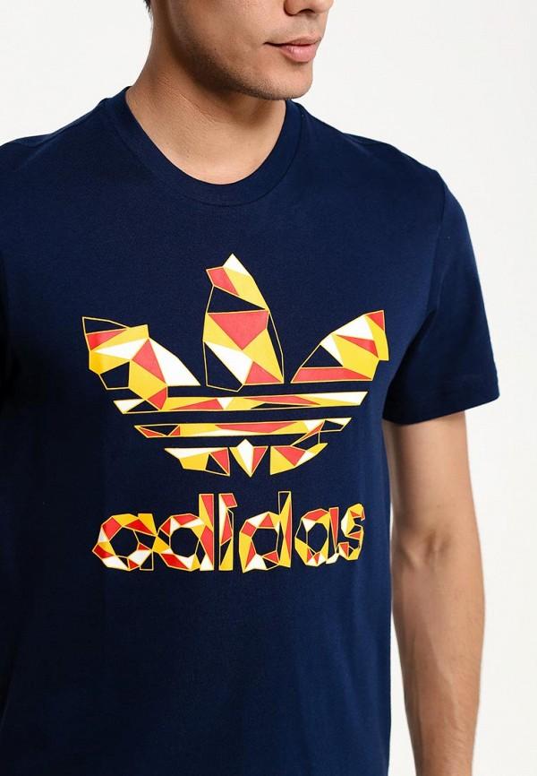 Футболка с надписями Adidas Originals (Адидас Ориджиналс) S19218: изображение 3