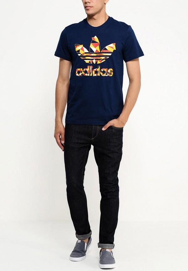 Футболка с надписями Adidas Originals (Адидас Ориджиналс) S19218: изображение 4