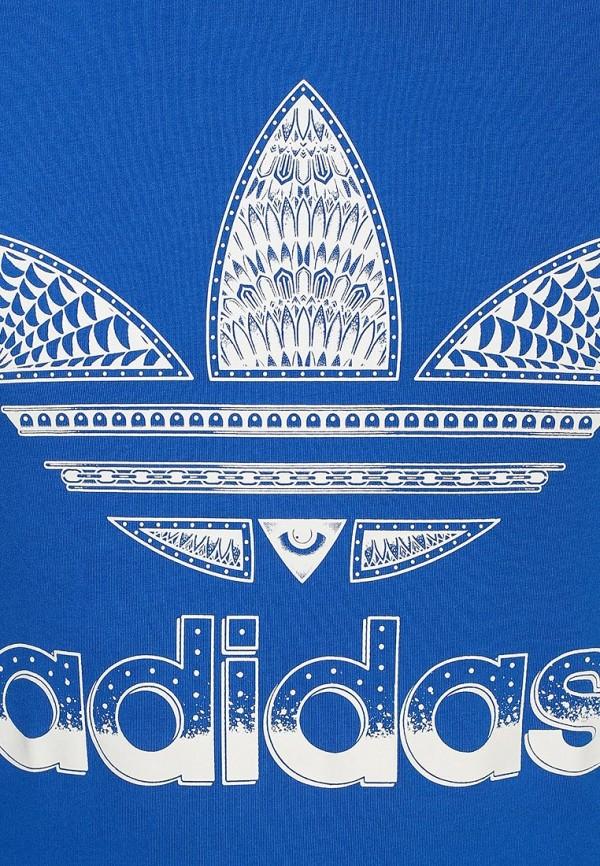 Футболка с надписями Adidas Originals (Адидас Ориджиналс) S19233: изображение 2