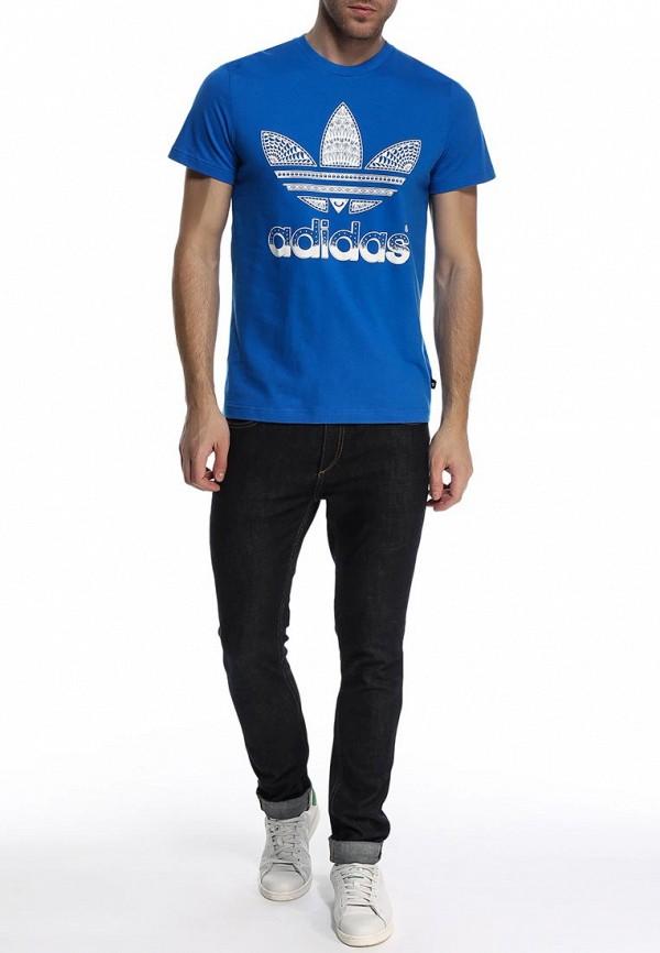 Футболка с надписями Adidas Originals (Адидас Ориджиналс) S19233: изображение 3