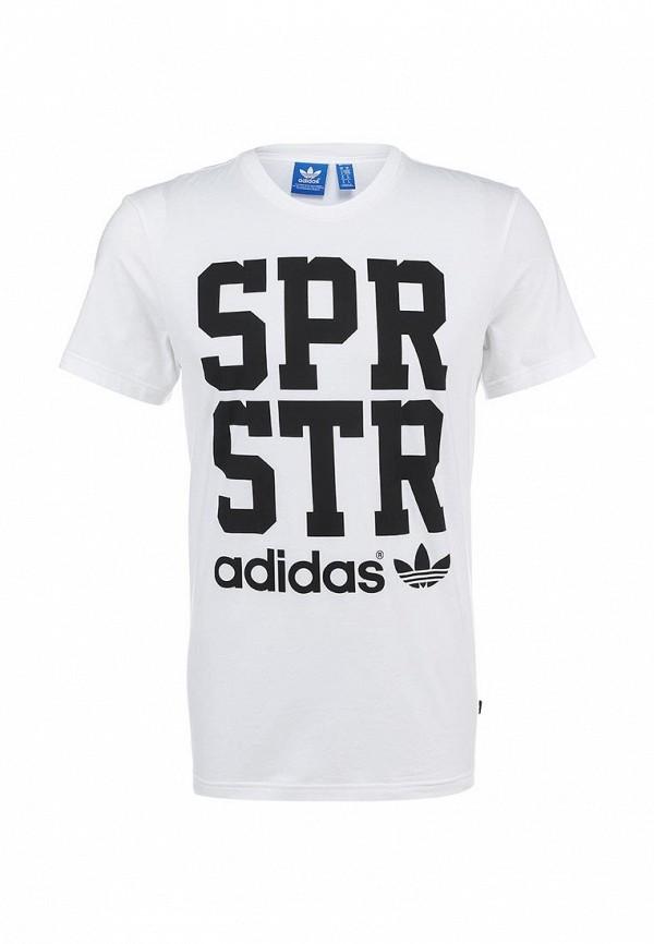 Футболка с надписями Adidas Originals (Адидас Ориджиналс) S19270: изображение 1