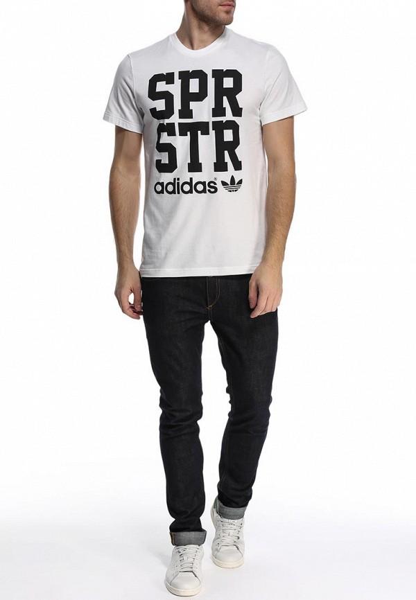 Футболка с надписями Adidas Originals (Адидас Ориджиналс) S19270: изображение 3