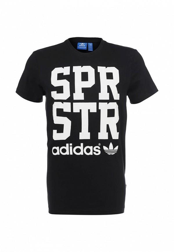 Футболка с надписями Adidas Originals (Адидас Ориджиналс) S19271: изображение 1