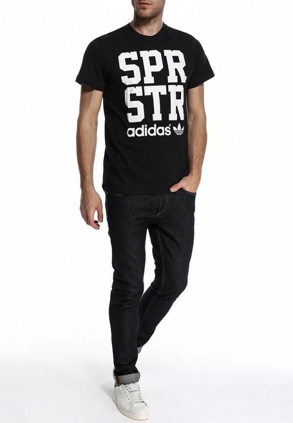Футболка с надписями Adidas Originals (Адидас Ориджиналс) S19271: изображение 3