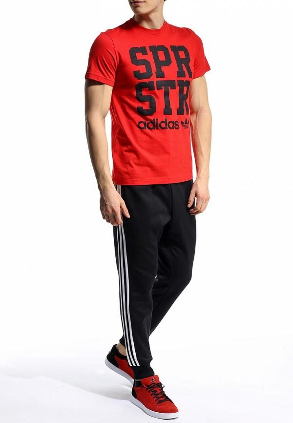 Футболка с надписями Adidas Originals (Адидас Ориджиналс) S19272: изображение 4