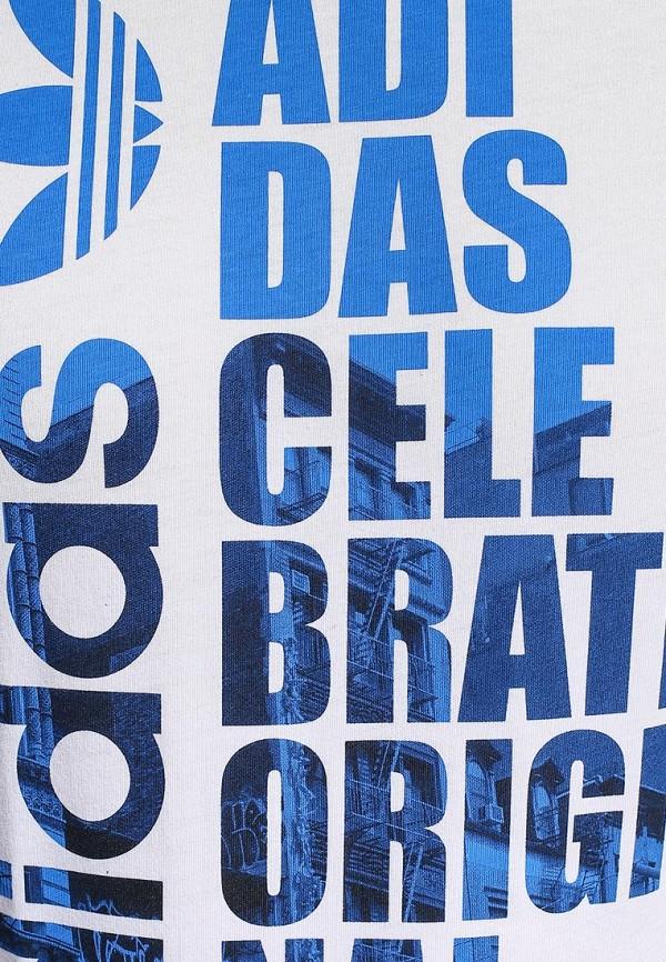 Футболка с надписями Adidas Originals (Адидас Ориджиналс) S19311: изображение 2