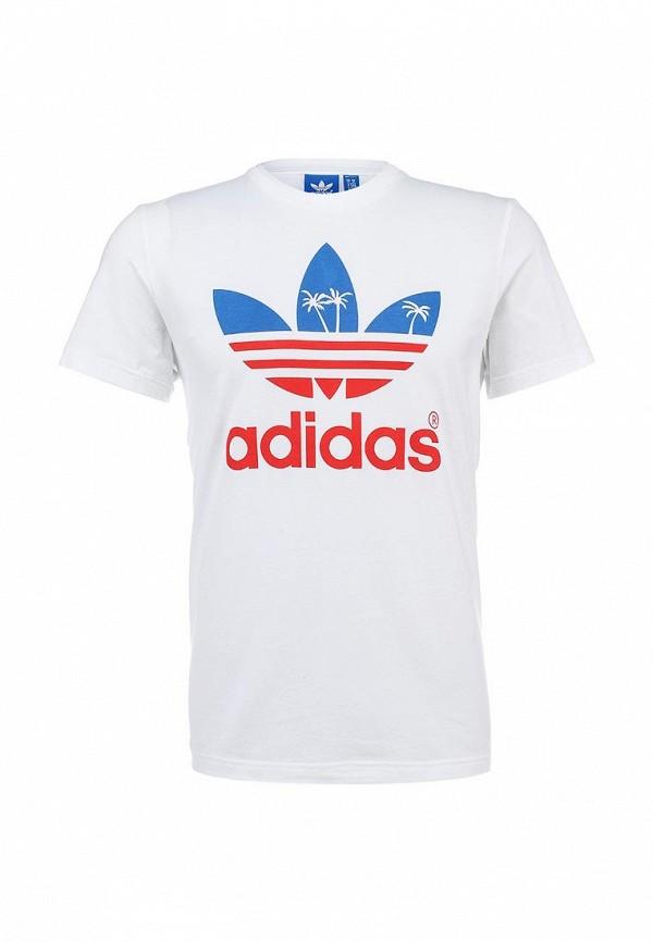 Футболка с коротким рукавом Adidas Originals (Адидас Ориджиналс) S19313: изображение 1