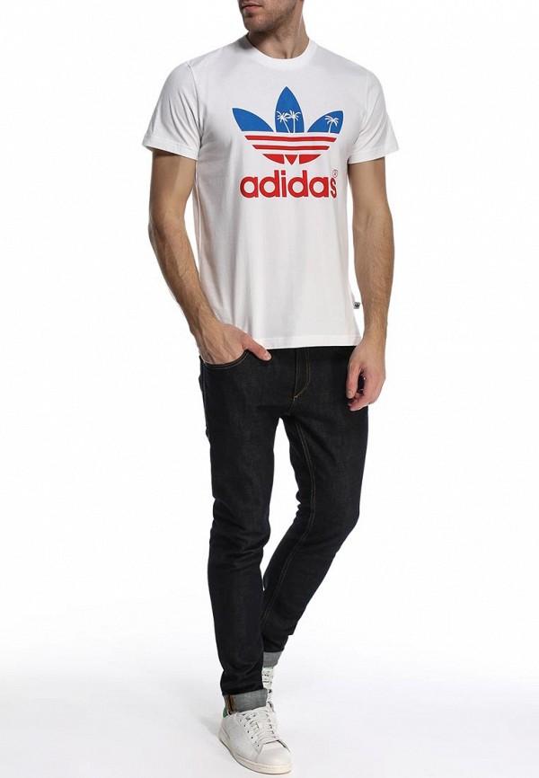 Футболка с коротким рукавом Adidas Originals (Адидас Ориджиналс) S19313: изображение 3