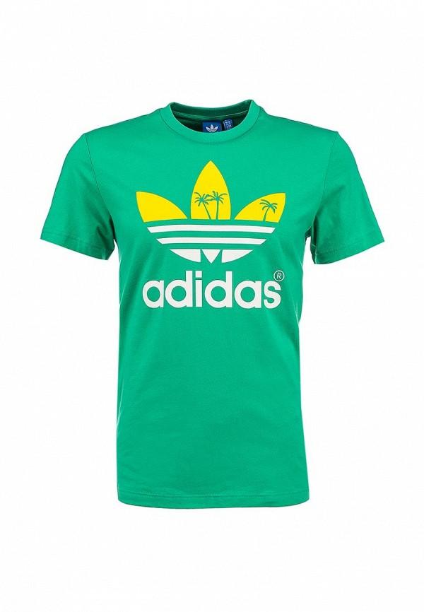Футболка с надписями Adidas Originals (Адидас Ориджиналс) S19314: изображение 1