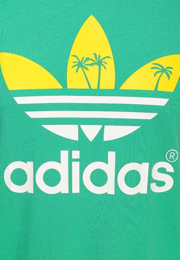 Футболка с надписями Adidas Originals (Адидас Ориджиналс) S19314: изображение 2