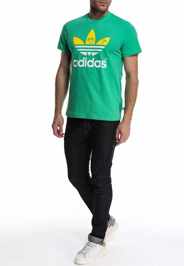Футболка с надписями Adidas Originals (Адидас Ориджиналс) S19314: изображение 4
