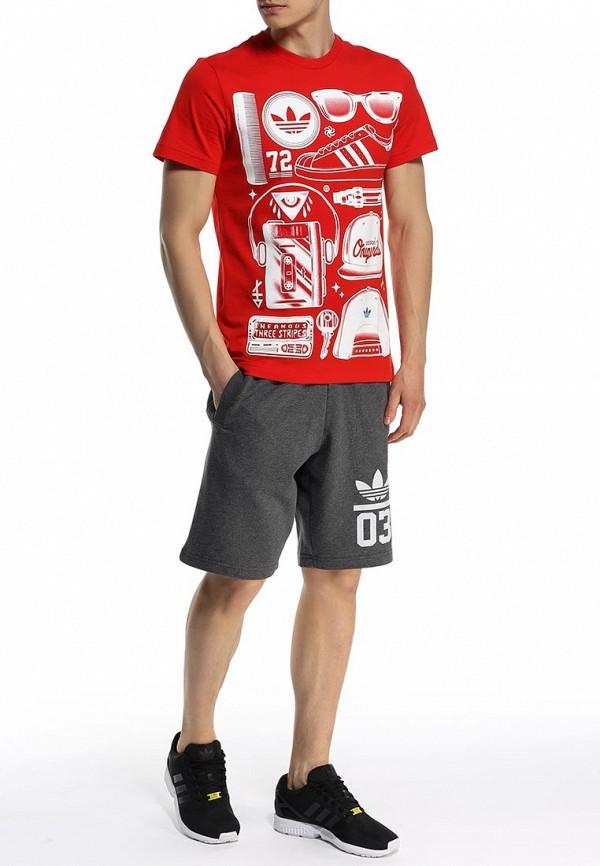 Футболка с коротким рукавом Adidas Originals (Адидас Ориджиналс) S19316: изображение 3