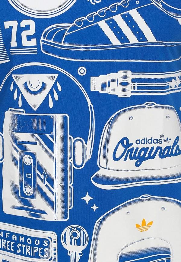 Футболка с надписями Adidas Originals (Адидас Ориджиналс) S19317: изображение 2