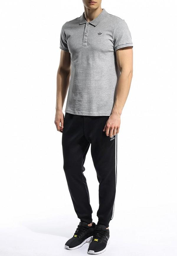 Мужские поло Adidas Originals (Адидас Ориджиналс) S89325: изображение 3
