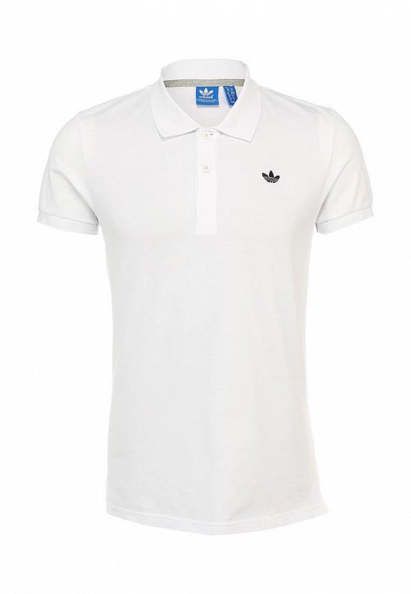 Мужские поло Adidas Originals (Адидас Ориджиналс) S89326: изображение 2