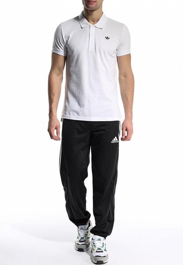 Мужские поло Adidas Originals (Адидас Ориджиналс) S89326: изображение 4