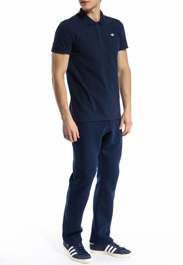 Мужские поло Adidas Originals (Адидас Ориджиналс) S89327: изображение 4
