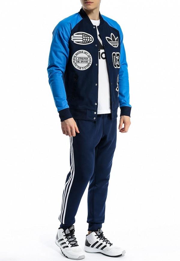 Мужские спортивные брюки Adidas Originals (Адидас Ориджиналс) S89368: изображение 3