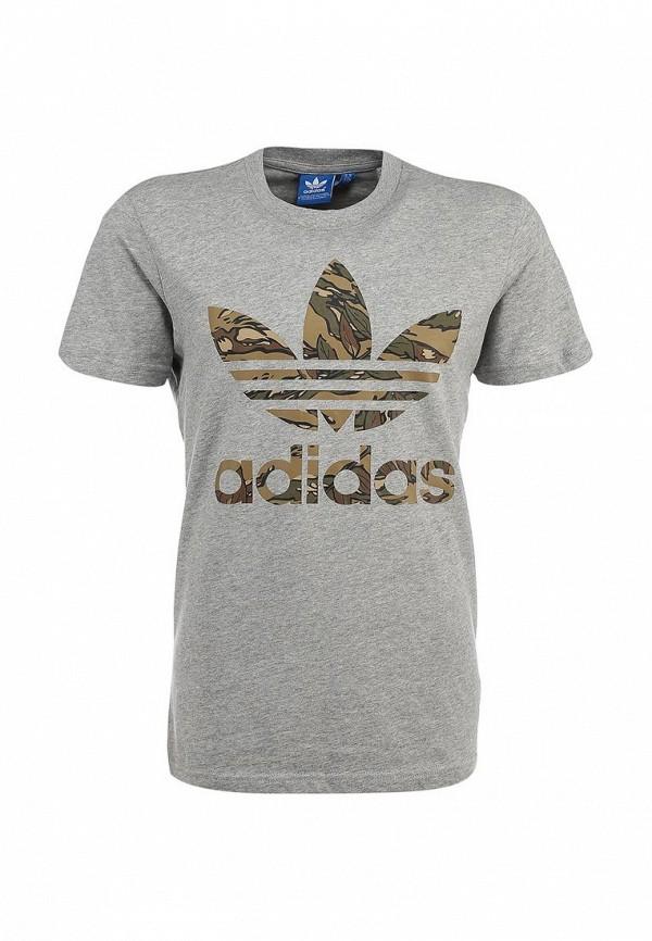 Футболка с надписями Adidas Originals (Адидас Ориджиналс) S89919: изображение 2