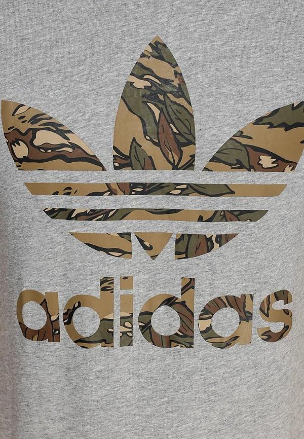 Футболка с надписями Adidas Originals (Адидас Ориджиналс) S89919: изображение 3