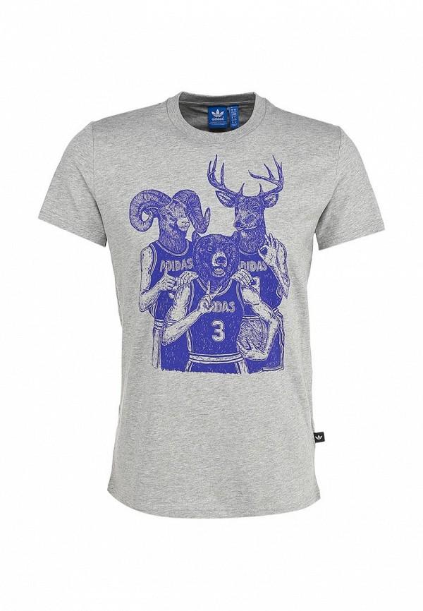 Спортивная футболка Adidas Originals (Адидас Ориджиналс) S89934: изображение 1