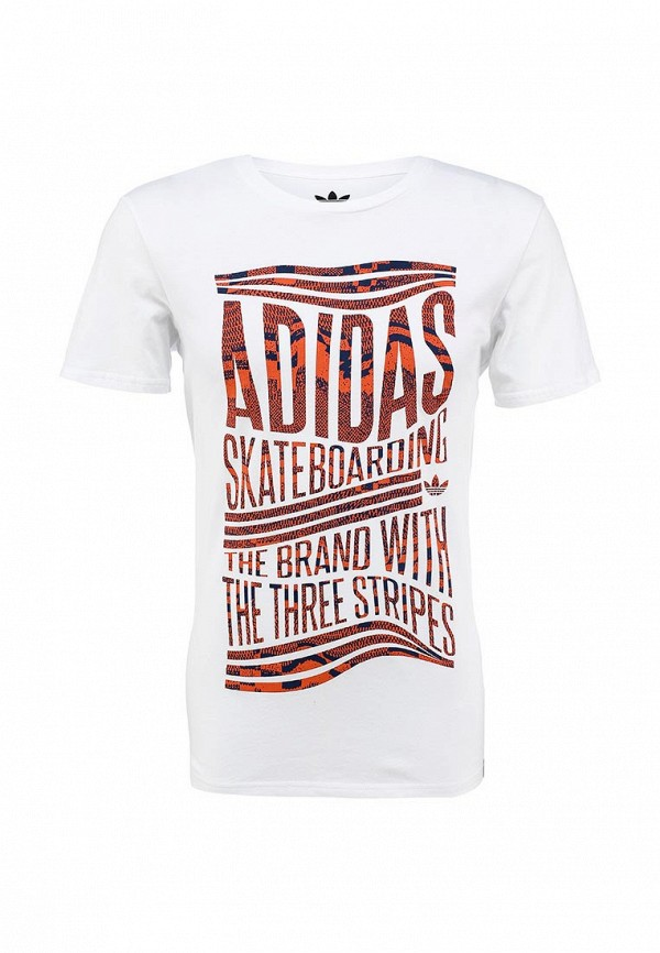 Футболка с надписями Adidas Originals (Адидас Ориджиналс) S23466: изображение 1