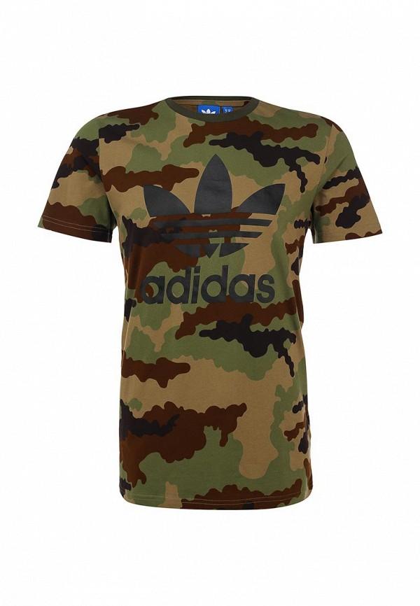 Футболка с коротким рукавом Adidas Originals (Адидас Ориджиналс) AB2484: изображение 1
